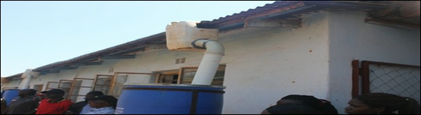 Rainwater harvesting project in Zimbabwe